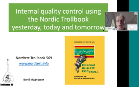 Bertil magnusson, on Internal Quality Control